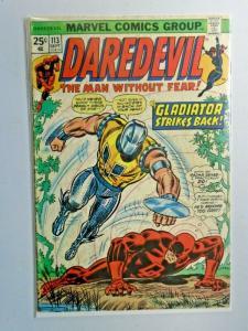 Daredevil #113 1st Series 3.0 (1974)