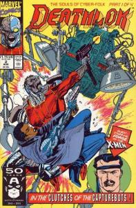 Deathlok (1991 series) #2, NM + (Stock photo)