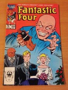 Fantastic Four #300 Direct Market Edition ~ NEAR MINT NM ~ 1987 MARVEL COMICS