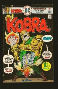 DC Comics Kobra Vol 1 No 1 March 1976