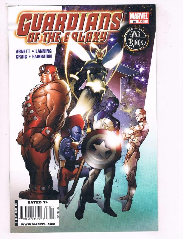 Guardians Of The Galaxy #16 NM- 1st Print Marvel Comics