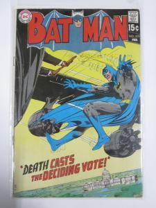 BATMAN 219 February 1970 Neal Adams classic VG COMICS BOOK