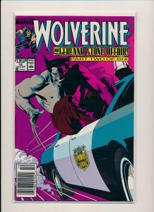 Marvel Comics WOLVERINE #12, Gehenna Stone Affair! Pt 2 ~ 1989 VF/NM (PF489)