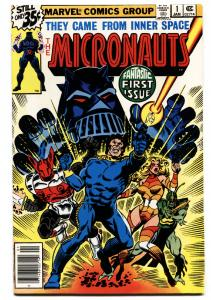 Micronauts-#1 COMIC BOOK First Issue marvel  1978 VF