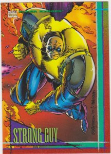 1993 Marvel Universe #45 Strong Guy