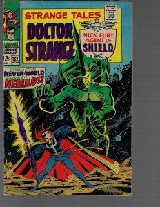 Strange Tales #162 (Marvel, 1967) VF+