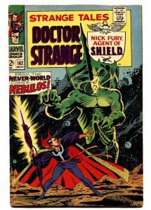 STRANGE TALES #162 comic book 1967-NICK FURY/DR. STRANGE-MARVEL