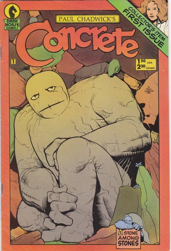 Concrete #1 Second printing