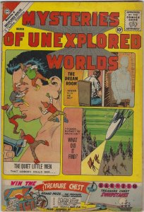 Mysteries of Unexplored Worlds, #23, March 1960, Ditko Cover & Art