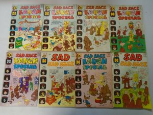 Silver age Harvey Sad Sack Giant-sized lot 35 different avg 5.0 VG FN