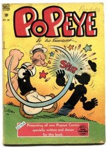 Popeye #4 1949- Dell Golden Age- Sagendorf VG-
