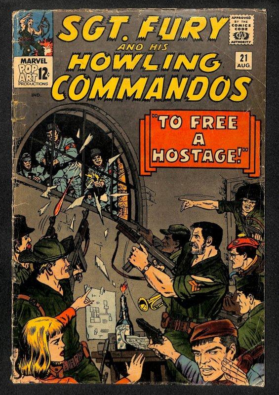 Sgt. Fury #21 (1965)