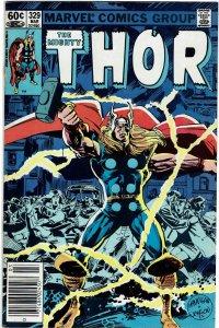 Thor #329 (1966 v1) Herb Trimpe Newsstand FN