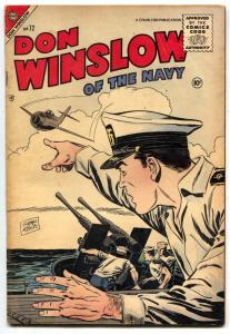 Don Winslow of The Navy #72 1955- Lance O'Casey VG/F