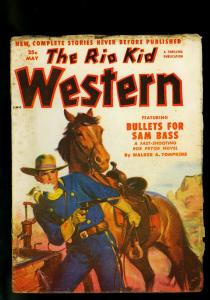 The Rio Kid Western May 1952 Thrilling Pulp- Walker Tompkins VG