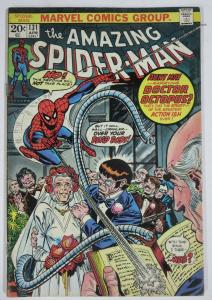 AMAZING SPIDER-MAN  #131 (Marvel,4/1974) (VG-) Doc Ock &Aunt May! Conway & Andru