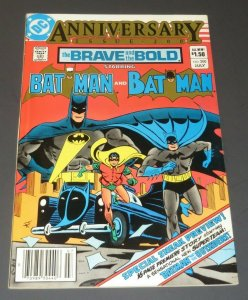 Brave and Bold #200 FN+ White Pages DC Comic Book 1st App. Batman/Outsiders