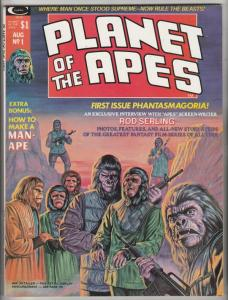 Planet of the Apes Magazine #1 (Aug-74) NM- High-Grade