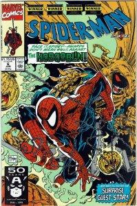 Spider-Man #6 (1990 v1) Todd McFarlane Hobgoblin Ghost Rider VF