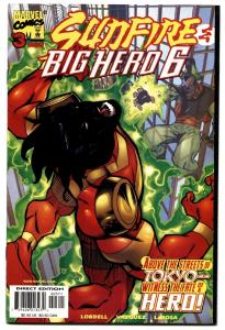 SUNFIRE AND BIG HERO 6 #3-1998-SIX-HTF-MARVEL-MOVIE.