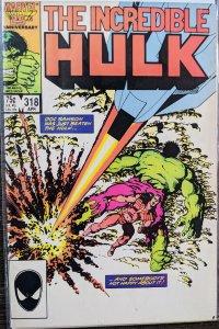 The Incredible Hulk #318 (1986) VF-