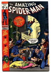 AMAZING SPIDER-MAN #96 nice copy-DRUG ISSUE-GREEN GOBLIN