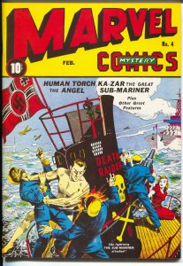 Flashback #26 1970's-Reprints Marvel Mystery Comics #4 from 1940 -NM