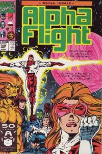 Alpha Flight (1983 series) #100, NM- (Stock photo)