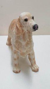 Figura de perro resina: Cocker Spaniel de 8.5x11 cm
