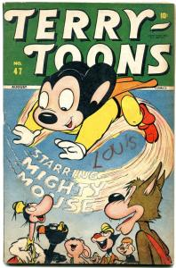 Terry-Toons Comics #47 1946- Mighty Mouse- Timely Golden Age FN