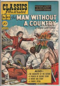 Classics Illustrated #63 (Sep-49) VG+ Affordable-Grade