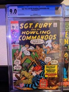 Sgt. Fury #83 (1971) CGC 9.0