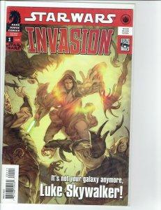 STAR WARS: INVASION (2009 Series) #1 Very Fine Comics Book