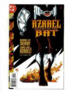 Lot of 12 Azrael DC Comic Books #50 51 52 53 54 55 56 57 58 59 60 61 GK52