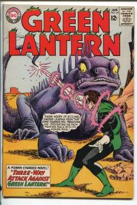 GREEN LANTERN  #34 1965-DC-MONSTER COVER-GIL KANE-vf+