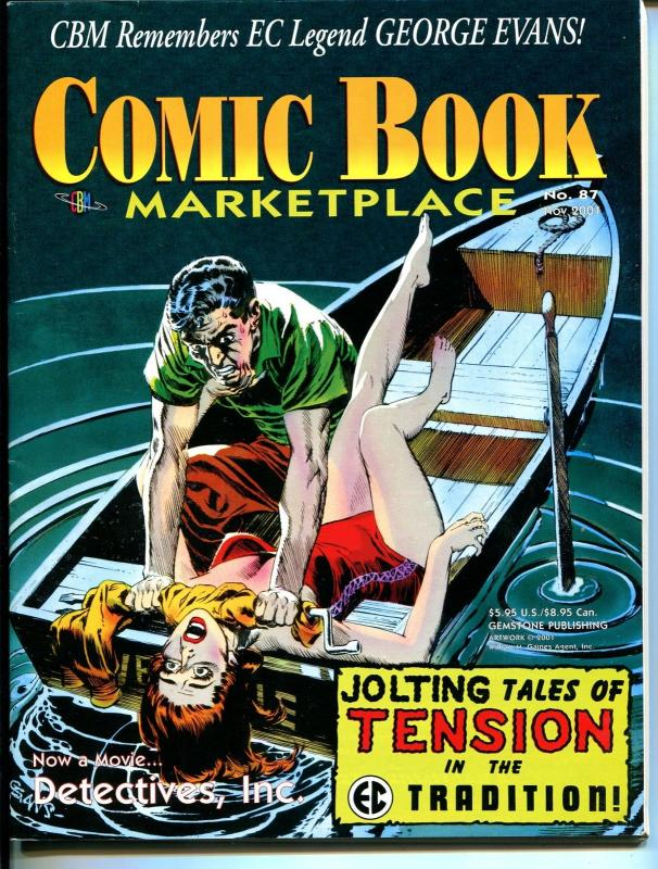 Comic Book Marketplace #87 2001-Jim Steranko-George Evans-EC Comics-VF