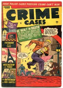 Crime Cases #26 1951- Golden Age- Electric Chair- G/VG