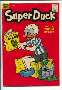 Super Duck #76b1957-Archie-sci-fi cover-Martian Mystery-Halloween story-rar...