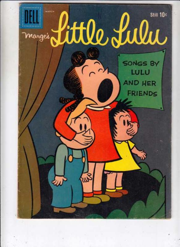 Little Lulu, Marge's #129 (Mar-59) VG+ Affordable-Grade Little Lulu