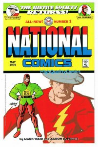 JUSTICE SOCIETY - NATIONAL COMICS #1, Insert, 1999, NM