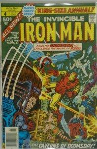 Iron Man ANN #4 - 4.0 VG - 1977