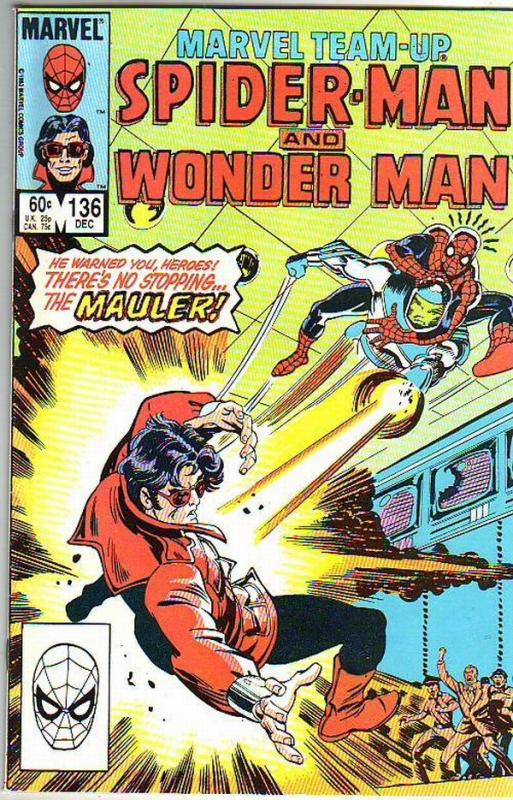 Marvel Team-Up #136 (Dec-83) NM- High-Grade Spider-Man