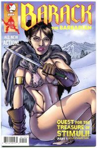 BARACK the BARBARIAN #1 B, NM, President, Sarah Palin, 2009, Conan parody