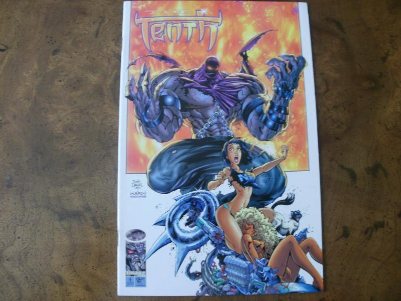 The Tenth #4 (image) First Printing June 1997 Tony Daniel