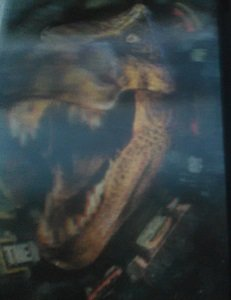 Jurassic Park The Lost World Lenticular Trading Card