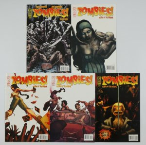 Zombies!: Eclipse of the Undead #1-4 VF/NM complete series + hunters one-shot