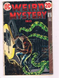 Weird Mystery Tales #4 VG DC Comics Bronze Age Comic Book Feb 1973 DE48