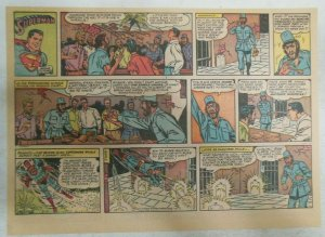 Superman Sunday Page #1112 by Wayne Boring from 2/5/1961 Size ~11 x 15 inches
