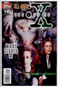 X-FILES #18, NM, Dana Scully, 1st,  Fox Mulder, Carter, 1995, more XF in store