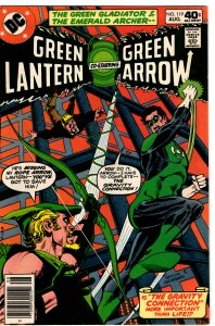 Green Lantern & Green Arrow #119 (1960 v2) Black Canary VF